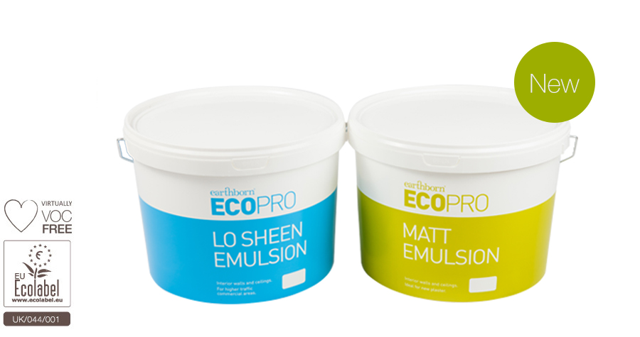 Environmentally Friendly Emulsion Paints