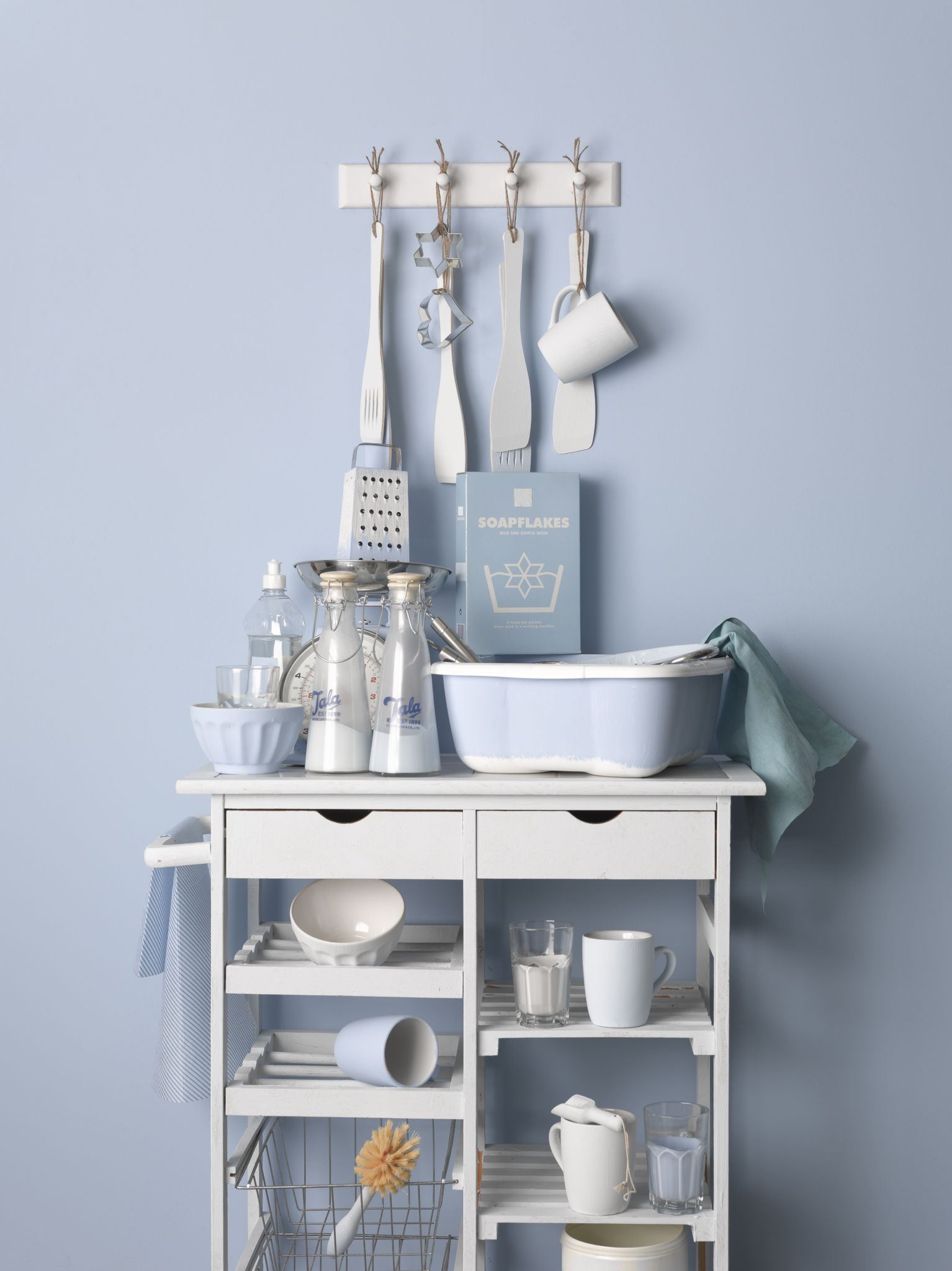 Earthborn New Colours 2013 Kitchen Sink (portrait High Res) Featuring Walls  In Gingham