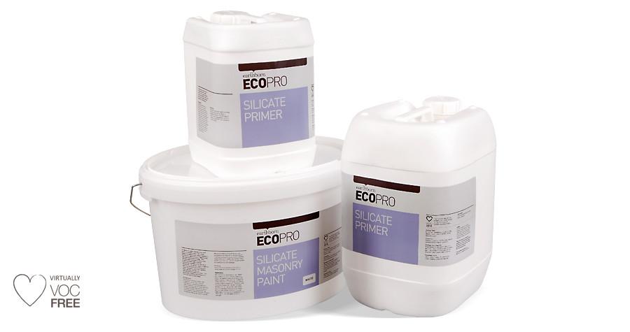 Ecopro Silicate Masonry Paints