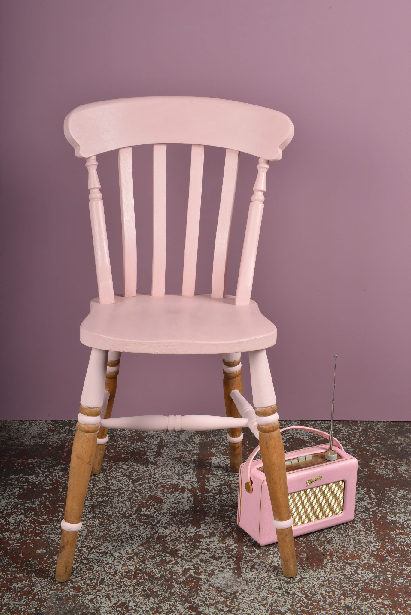 Rosie Posie Chair with props