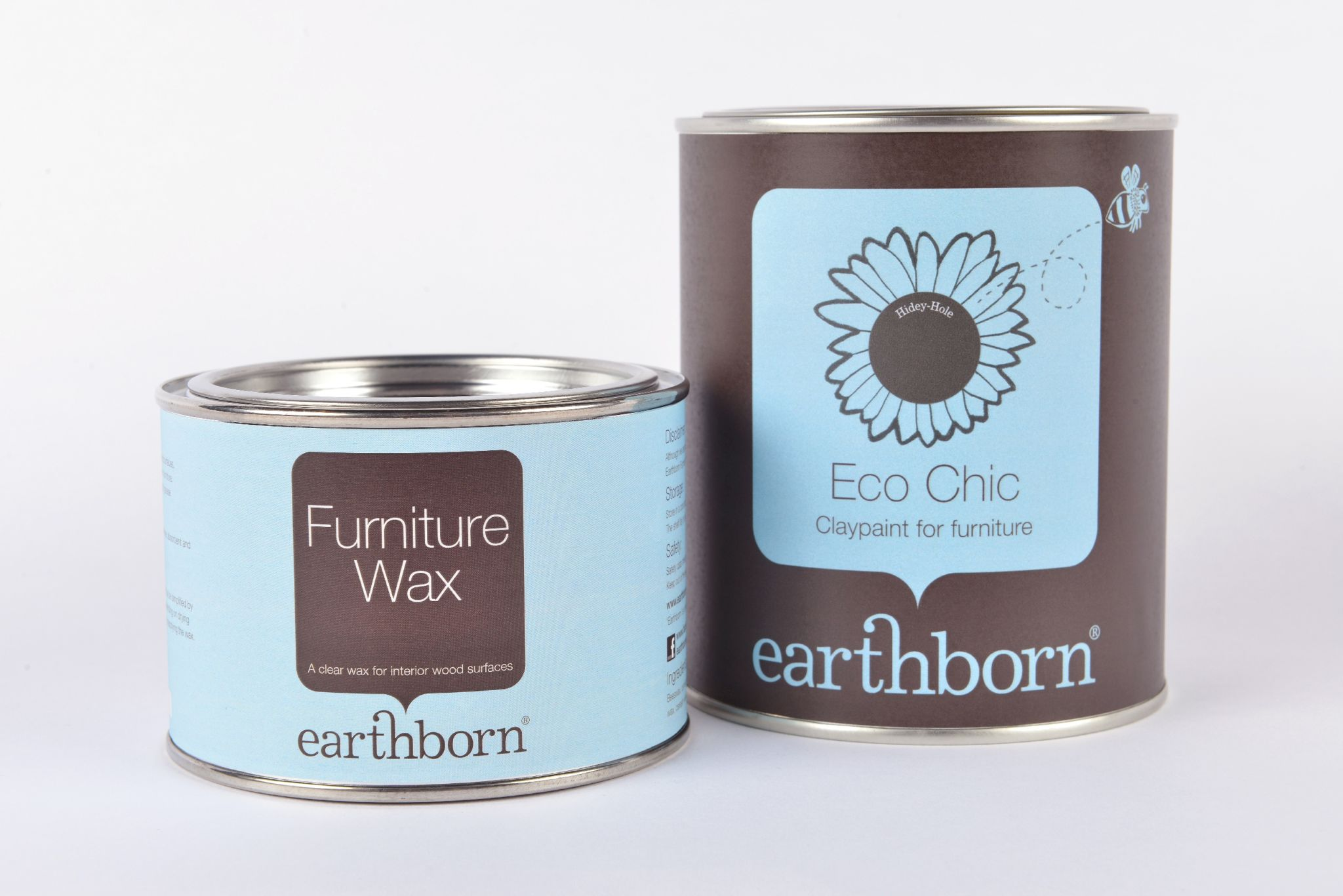 Earthborn Eco Chic is a breathable, thick, creamy paint for furniture. It's safe for children's cots and toys too!