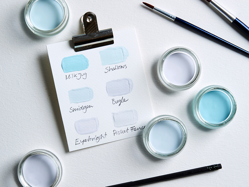 Earthborn's icy cool paint colours inspired by Narnia
