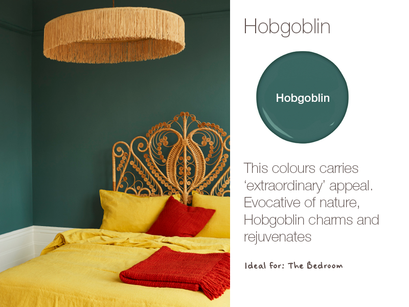 Earthborn Hobgoblin is a brand new eco paint colour for 2019. Charming and rejuvenating.