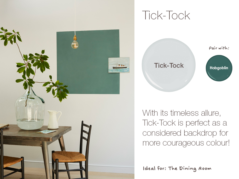 Earthborn Tick-Tock is a brand new eco paint colour for 2019. Timeless and alluring.