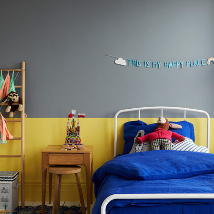 Nursery .ft wall in Hippo Hooray and Daisy Chain