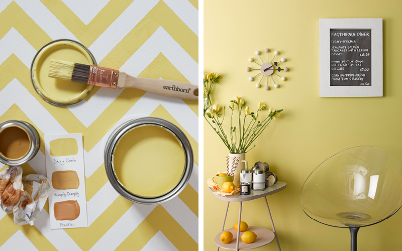 Daisy Chain adds a bright, refreshing touch to kitchens and dining areas