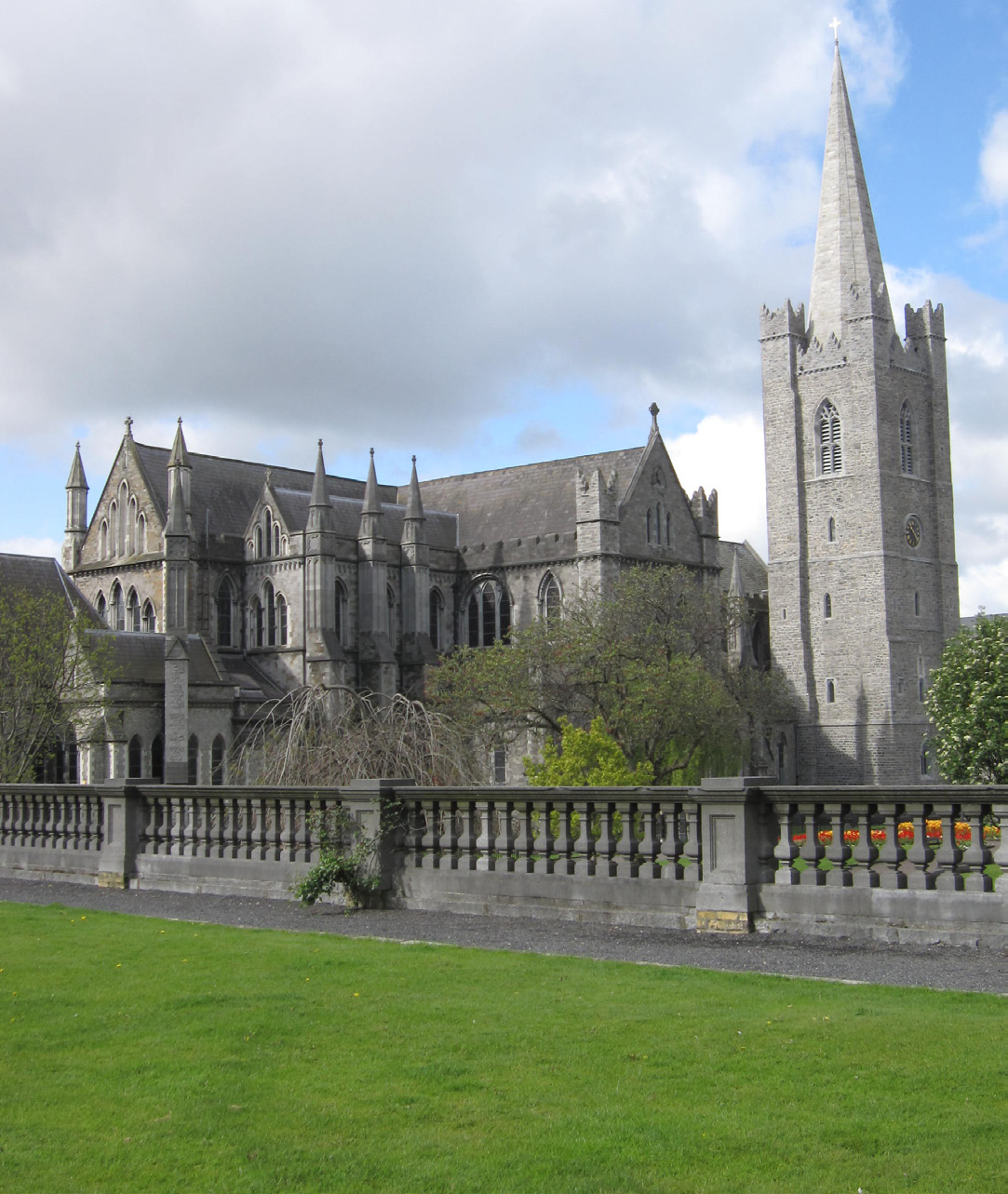 St Patrick's Cathedral, Dublin. Image courtesy of John Beauchamp Architects