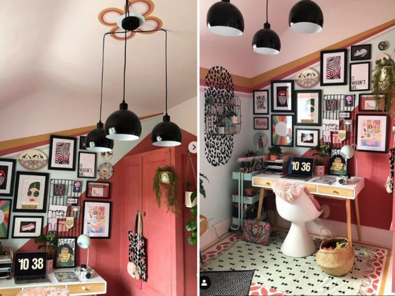 Soozi Danson home office transformation