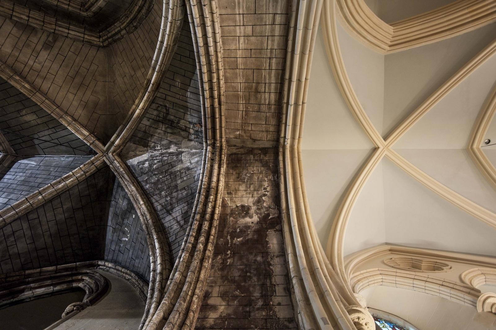 Earthborn breathable Claypaint used for conservation project The Lady Chapel at St Patrick's Cathedral
