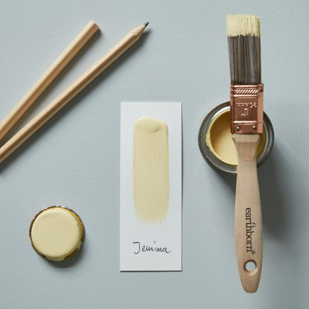 Earthborn light yellow paint colour Jemima