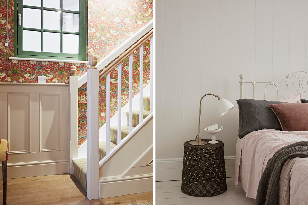 Earthborn's Edwardian paint colours include Little Rascal and White Clay