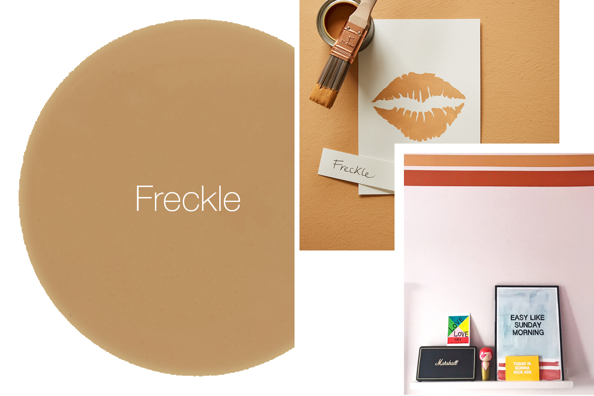 Earthborn Freckle is a warm earthy tone