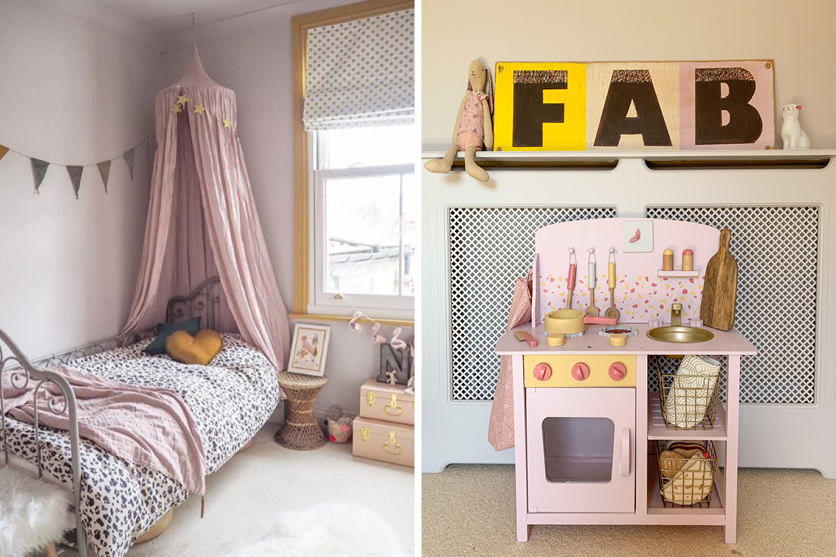 Jess from Gold is a Neutral used Earthborn colours for her daughters bedroom makeover