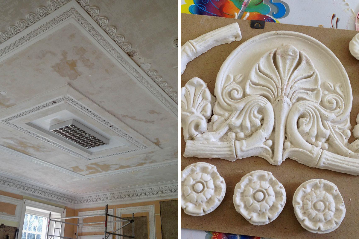 Restoration of the Club Room at Moreton House