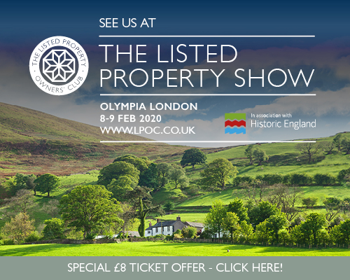 Visit Earthborn at the Listed Property Show at London's Olympia
