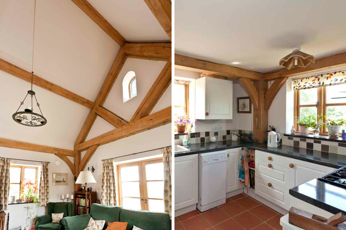 Painting Wooden Beams Earthborn Paints,Spring Painting Ideas