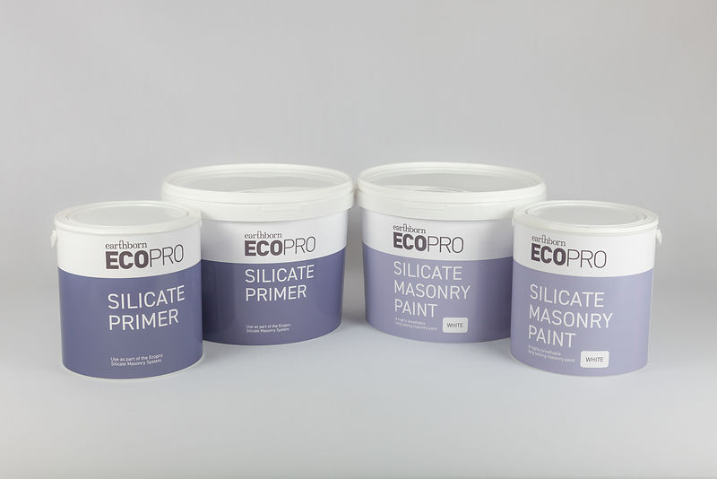 Earthborn Silicate Masonry Paint and Primer