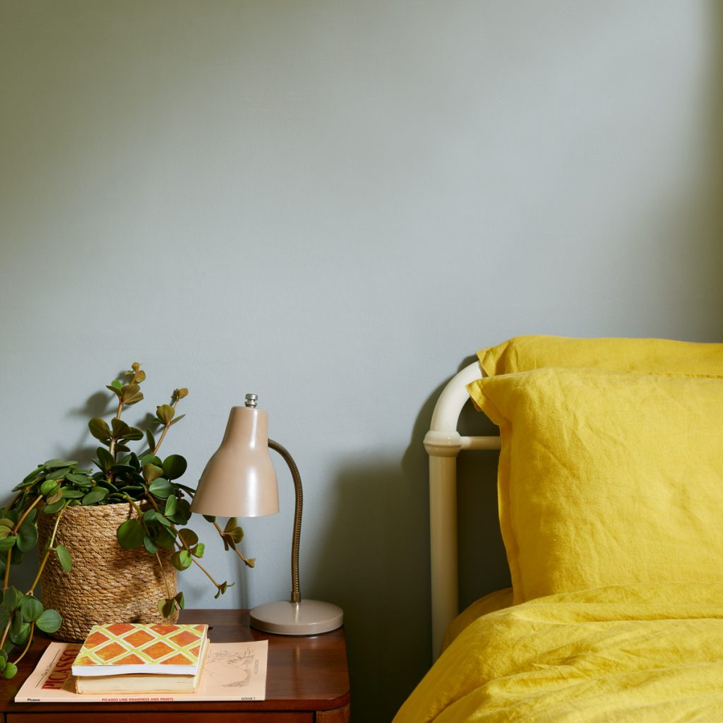 Grassy is one of our new Earth Collection colours, a soft grey-green that's perfect for bedrooms
