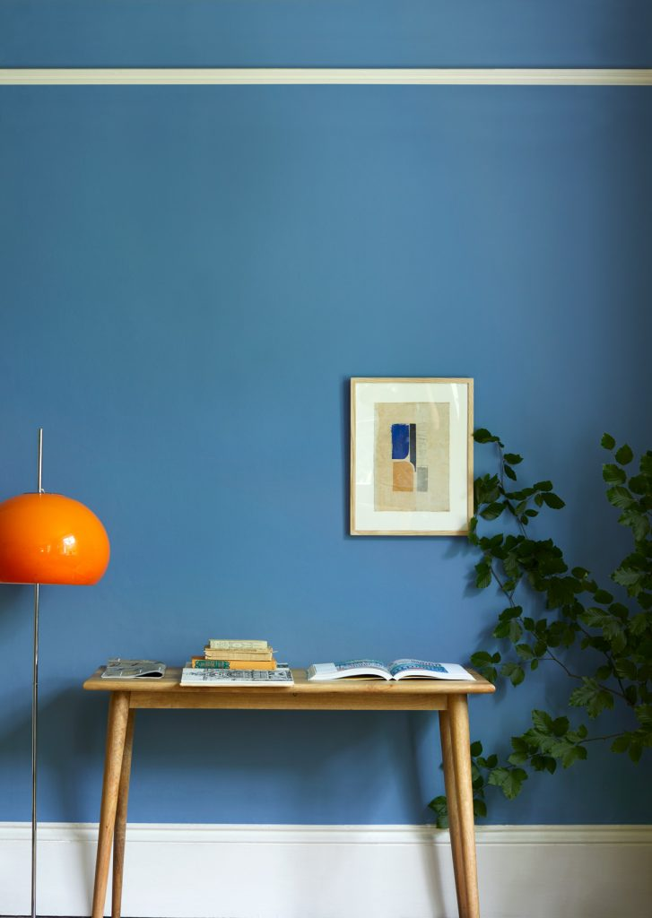 Part of The Earth Collection, Skipper is a relaxed mid blue inspired by the sea