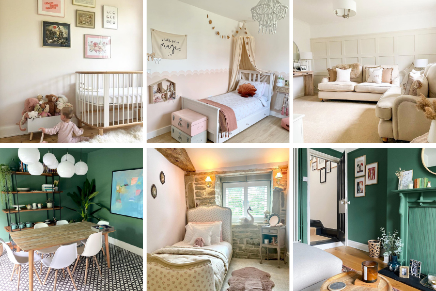 Our Instagram account is full of real homes painted in Earthborn