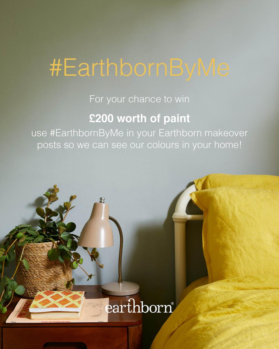 Win! £200 worth of Earthborn paint #EarthbornByMe