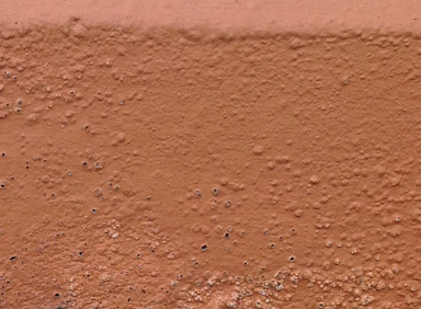 Bubbling, blistering and flaking paint are classic tell-tale signs of damp in walls