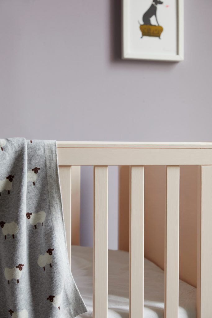 Earthborn Ingelnook and Peach Baby are certified as safe to use in children's rooms