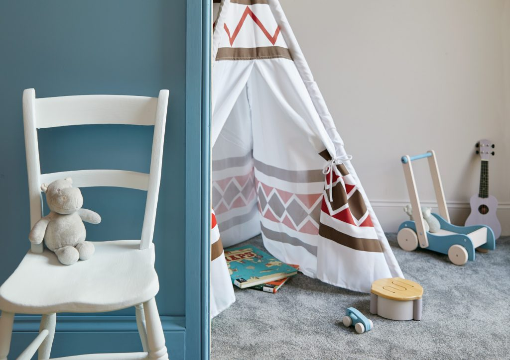 Toys and furniture can be updated with a variety of eco-friendly Earthborn finishes