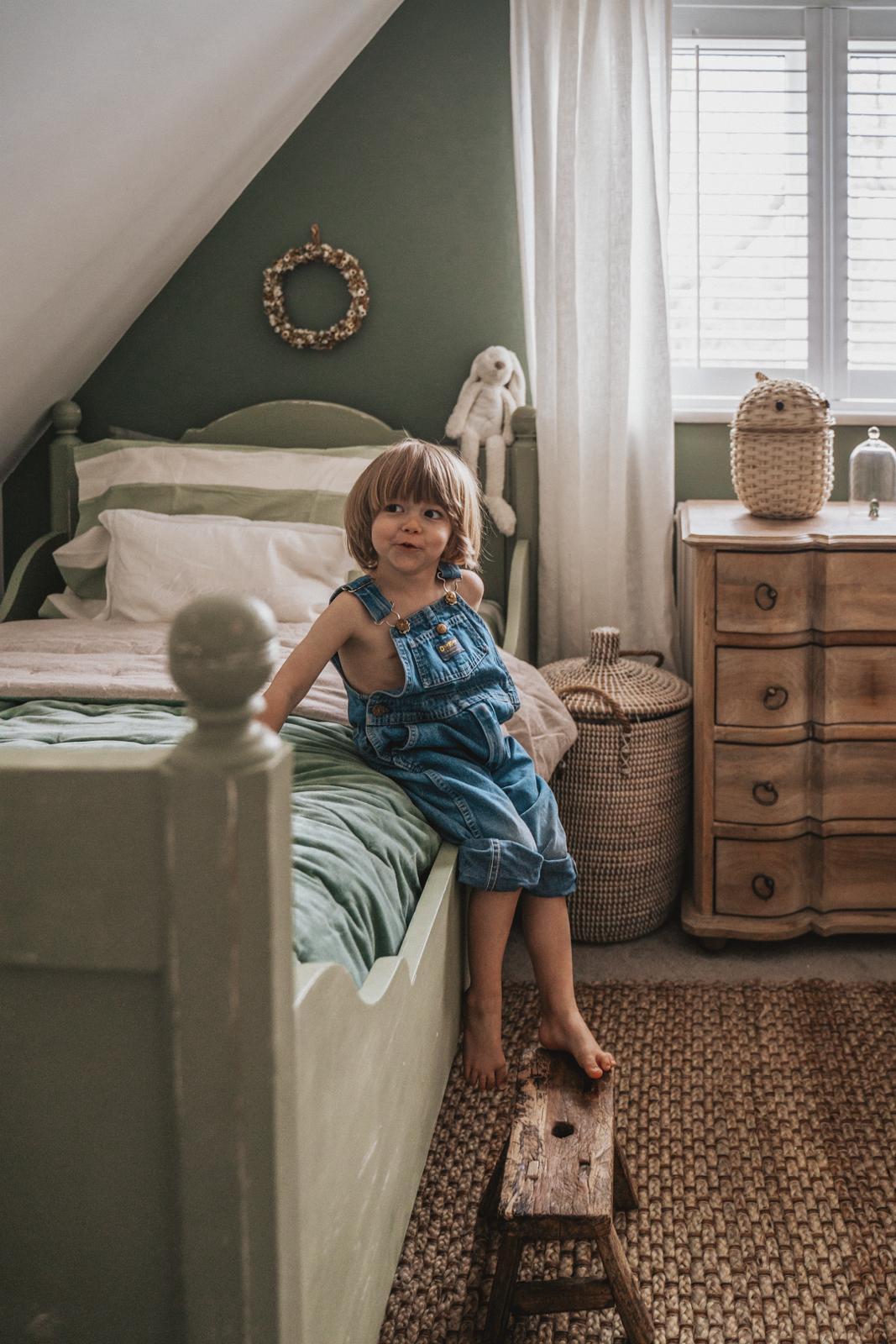 Joey Kendal Brown used Secret Room in her son's dreamy bedroom