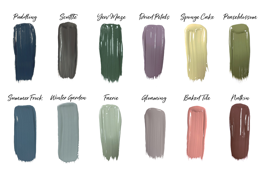 Introducing our new palette of 12 Modern Country Colours, in partnership woth Country Homes & Interiors Magazine