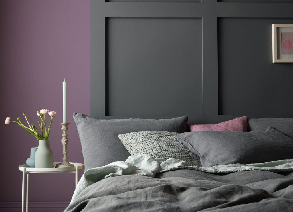 Scuttle is a deep charcoal grey with a sophisticated feel, ideal as an accent colour.