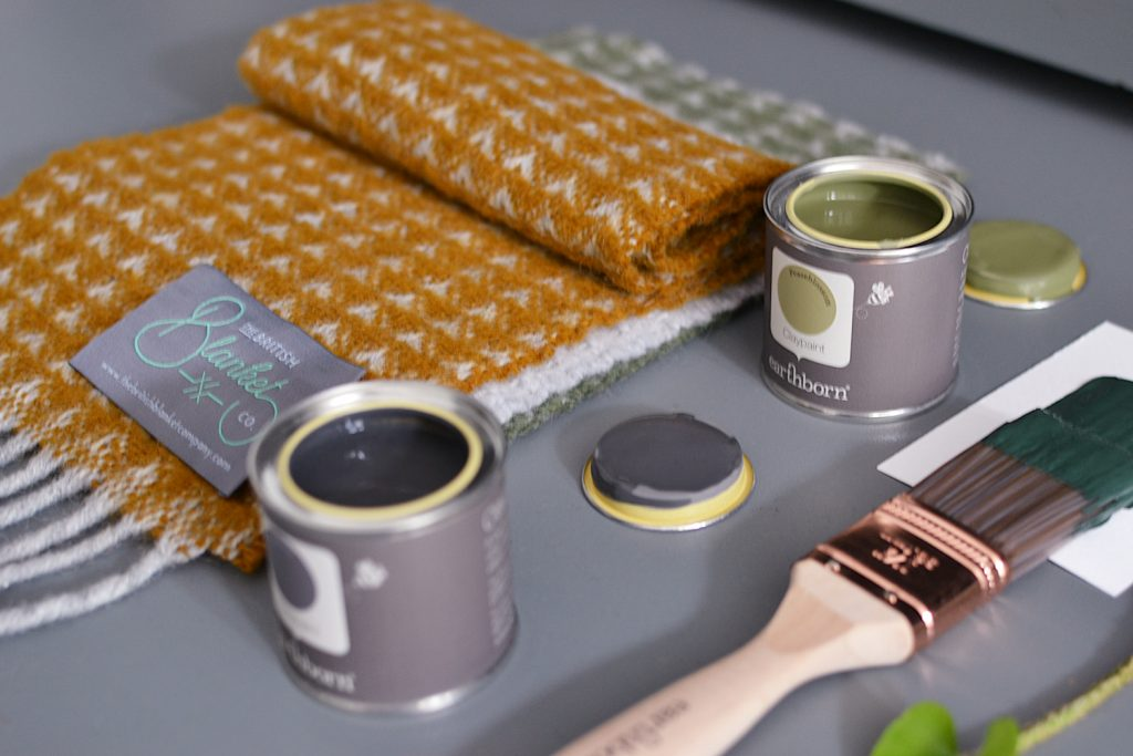 For a chance to win a British made pure wool blanket and 5L Earthborn paint, enter our competition