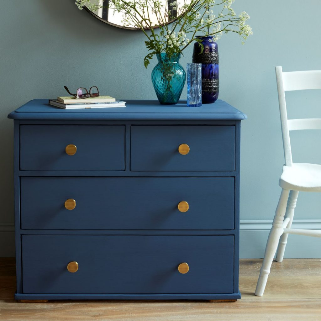 Pushka Home handles are perfect for upcyling furniture with Earthborn paint